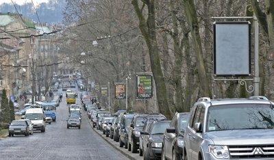 Штраф за парковку на пешеходной дорожке