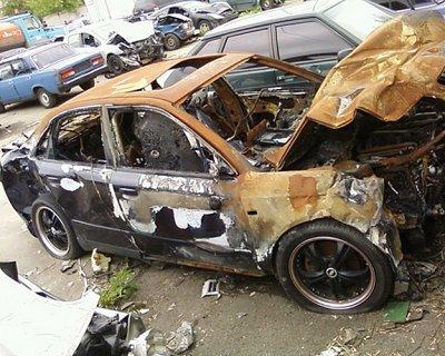При какой сумме повреждений автомобиль тоталится