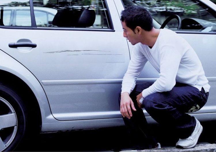 Как оформить КАСКО если сам поцарапал машину